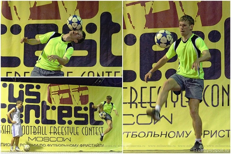 Russian Football Freestyle Contest 2011 by Freestyle Sport